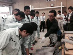 地域貢献活動 関商工高等学校 建設工学科活性化事業