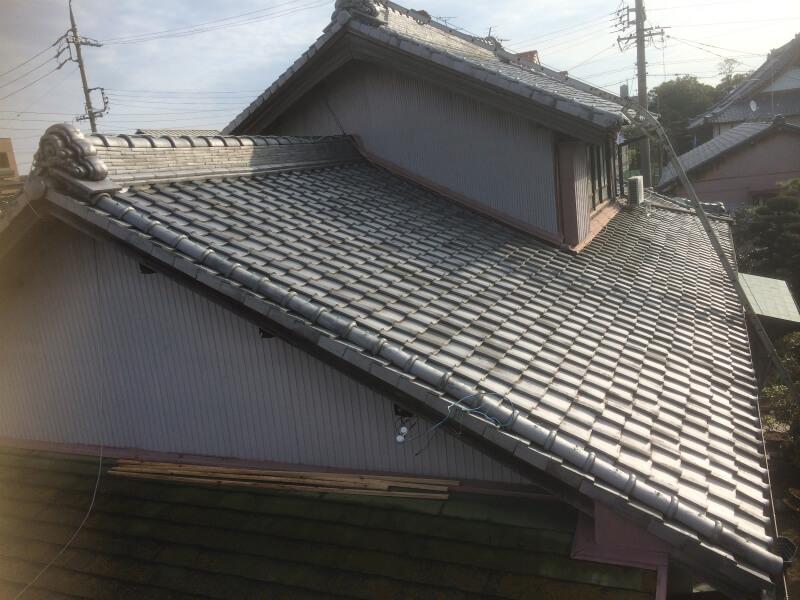 屋根葺せ替え工事 施工前