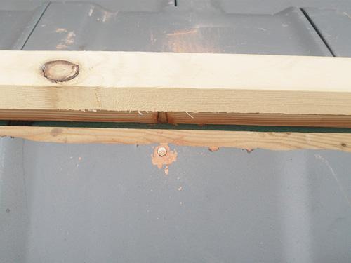 平板・引っかけ葺き工法 その6