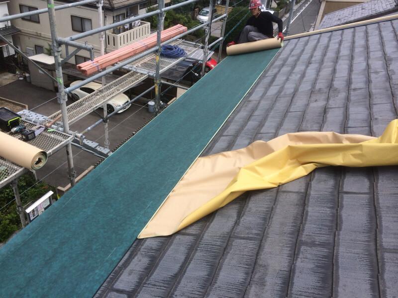 カラーベストの屋根について
